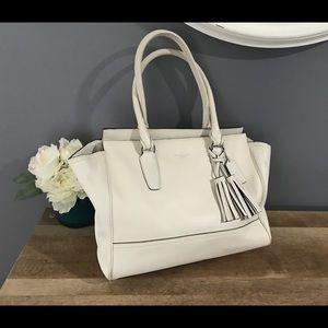 Beautiful White Coach Bag